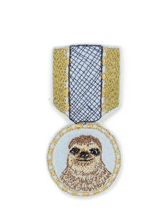 Future Friends |CORAL&TUSK |バッジ |sloth medal