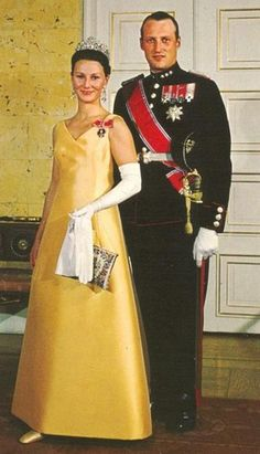 Crown Prince Harald and Crown Princess Sonya of Norway