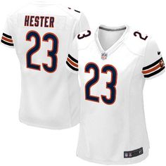 Shop for Official Womens Nike Chicago Bears http://#23 Devin Hester Elite White Jersey. Get Same Day Shipping at NFL Chicago Bears Team Store. Size S, M,L, 2X, 3X, 4X, 5X.$109.99