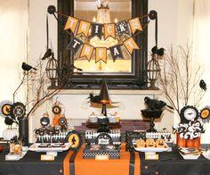 Last Minute Halloween Ideas -- Halloween Party Inspiration