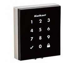 Kwikset Demos First Keyway-less Electronic Deadbolt with Modern Design at CEDIA - CE Pro