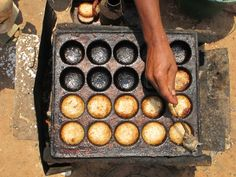 Mofo gasy means Malagasy bread, a snack in Madagascar made of rice flour, water, some sugar (sometimes honey) and yeast.