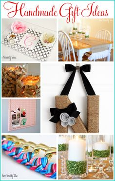 Great handmade gift tutorials!