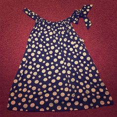 Navy polka dot top Brand new navy and white polka dot top that ties at the shoulder. It would look gorgeous with some skinny jeans! Bundle to get even bigger savings! Offers welcome. ❌No trades Cato Tops