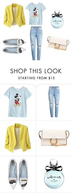 """""""Untitled #10"""" by kofolga on Polyvore featuring Chloé, Chiara Ferragni and Kate Spade"""