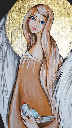 anioły na deskach szablon - Szukaj w Google