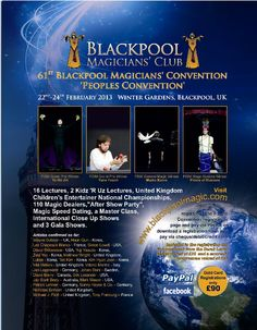 Mike Cooper Visit Blackpool Convention 2013 with 3500 visitors....