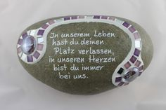"""Plant bowls - grave decoration: saying """"In our life ."""" """"- a designer piece . - Plant bowls – grave decoration: saying """"In our life …"""" """"- a unique product by Design-auf-Stein - Short Inspirational Quotes, Love Tatuaje, Tatto Sleeve, Dragon Quotes, Tatto For Men, Good Tattoo Quotes, Japanese Quotes, Grave Decorations, Happy Minds"""