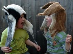 Barbara Keal's brilliant felt head dresses: made from Southdowns + Portland Sheep & Alpaca.