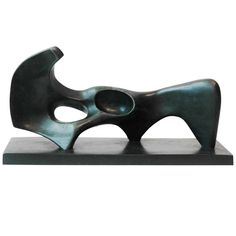 A Bronze Sculpture After- Henry Moore Abstract Sculpture, Sculpture Art, Henry Moore Sculptures, Sculptures For Sale, Metal Sculptures, Plastic Art, Pottery Sculpture, Stone Sculpture, Art Plastique