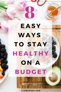 If you've ever thought to yourself that living a healthy lifestyle can't be done on a budget, think again! There are lots of ways to eat healthy, exer Ways To Eat Healthy, Healthy Habits, Healthy Recipes, Health Trends, Health Tips, Grocery Savings Tips, Frugal Meals, Frugal Tips, Easy Dinners