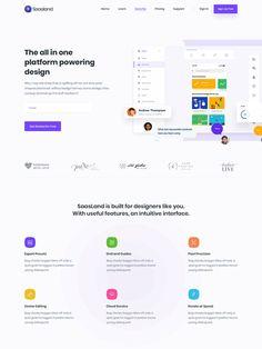 SaasLand - true multi-purpose theme for startups, business, agencies and Login Page Design, Landing Page Design, Ui Design, Web Design Agency, Web Design Services, Wordpress Theme Design, User Interface Design, Professional Website, Design Websites