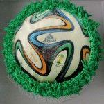 A Soccer Ball Cupcake Kick In the Teeth