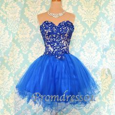 2015 navy blue sweetheart short slim prom dress for teens, ball gown, homecoming dress