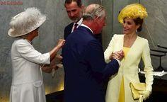 Isabel II da la bienvenida a Felipe y Letizia en la primera visita de Estado de un monarca español en 31 años