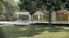 CGarchitect - Professional 3D Architectural Visualization User Community | Farnsworth House Part 2