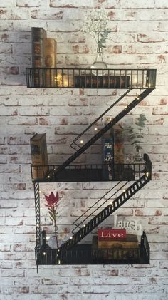 New York Fire Escape Shelf