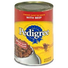 Pedigree Choice Cuts in Gravy Complete Nutrition with Beef for Dog, 22 Ounce Can -- 12 per case. -- Click image to review more details. (This is an affiliate link and I receive a commission for the sales) #MyDog