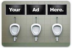 Washroom Advertisement
