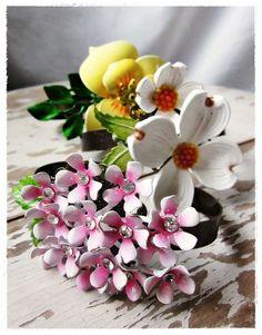 repurposed vintage flower bracelets. by bee vintage redux.