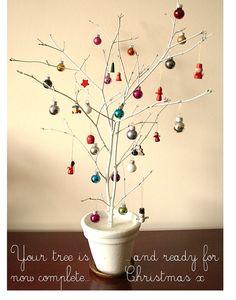 Frosty Twig Tree Tutorial