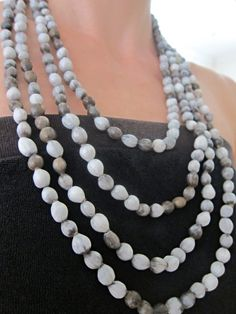 zulu necklaces, traditionally used for teething but so beautiful on.