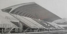 Florence Municipal Stadium, 1930-32 and 1950-51 Contractors: Nervi &…