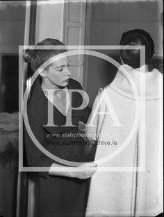 Clodagh Phipps, 18 Year Old Dress Designer, fitting clothes for her First Fashion Show at Irish Fashion, Old Dresses, Photo Archive, Designer Dresses, Fashion Show, Clothes, Image, Outfits, Designer Gowns