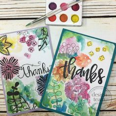 20 Minute Watercolor Cards - Faber-Castell Design Memory Craft