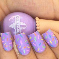 Girls Nail Designs, Easter Nail Designs, Easter Nail Art, Cute Nail Designs, Nails For Kids, Girls Nails, Kid Nails, Cute Nail Art, Cute Nails