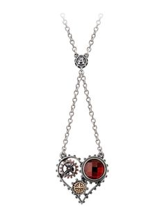 """""""Coeur du Moteur"""" Necklace by Alchemy of England #ineedthisrightnow!!!!"""