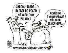 Chargista Cearense Newton Silva: ANO ELEITORAL