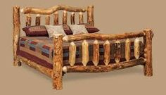View Dutchman Log Furniture's handcrafted products including assorted, bedroom, kitching and dining, living room and office furniture. Log Bedroom Furniture, Rustic Furniture, Home Projects, House, Design, Home Decor, Image, Log Burner, Decoration Home