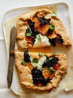 Sweet Potato and Kale Galette http://www.spoonforkbacon.com/2017/05/sweet-potato-and-kale-galette/