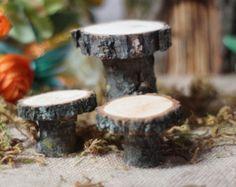 Mini Fire Pit Fairy Garden Cottage Miniature von GFTWoodcraft