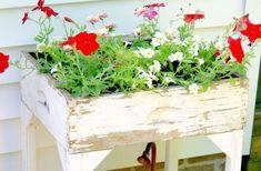 Kreatív és mutatós virágláda ötletek kertbe, ablakba