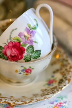 I'll have you over and we'll drink Tea in pretty Teacups.