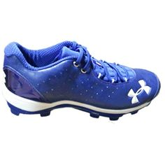 e2411007642 awesome Under Armour Men s Team Natural Iv Low Baseball Cleats 12.5 Royal  Blue Baseball Cleats