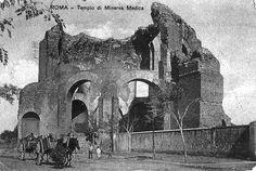 Foto storiche di Roma - Tempio di Minerva Medica