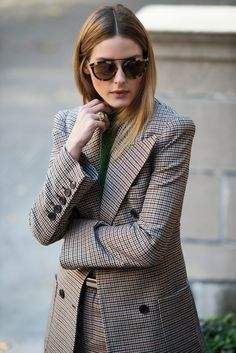 Olivia Palermo designed the perfect cool-girl sunglasses collection.
