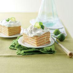 Key Lime Icebox Cake. #summer #citrus #desserts