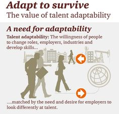 Adapt to Survive is PwC's global study that looks at the value gained by a better talent fit. More: http://www.pwc.com/gx/en/hr-management-services/publications/talent-adaptability/index.jhtml