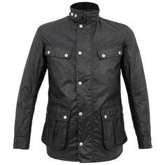 Duke Black Wax Jacket by Barbour