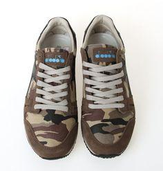 Diadora Hertage Triumph Mens Athlectic Running Shoes D1SND0466 BBR SIZE:7~10 #Diadora #AthleticSneakers
