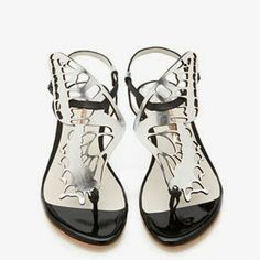 Sophia Webster 2014 Butterfly Shoes