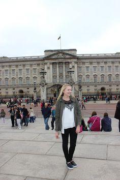 Stephanie Kamp Blogger Military Inspired Jacket in London