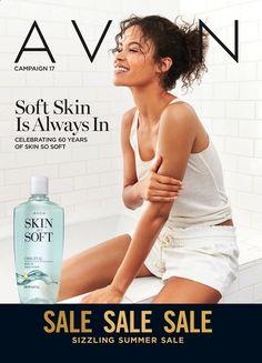 Browse the latest Avon brochure and easily order online! Brochure Online, Avon Brochure, Avon Skin So Soft, Avon Catalog, Avon Online, Online Deals, Avon Representative, Skin Firming, Summer Sale