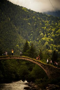 Rize Çat Bridge, Turkey