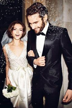 Wedding Style | Modern 60s | Tom Ford | Groom's Look