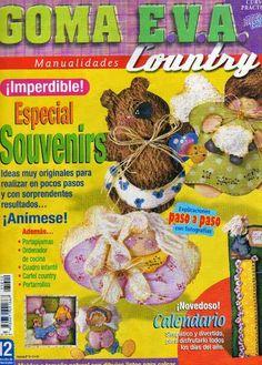 Como hacer Souvenir en Goma Eva Country